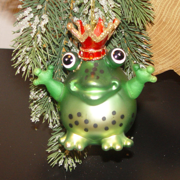 frosch mit krone  deko werk ideen shop